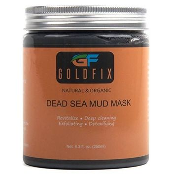 Dead Sea Mud Mask For Face, Acne, Oily Skin & Blackheads - Best Clay Facial Mask Treatment for Pore Minimizer & Cleanser, SPA Effect. 250 ml. Best Choice!!