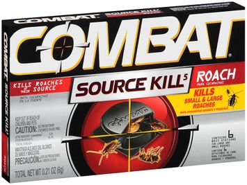 Combat® Source Kill 5 Roach Bait Station for Large and Small Roaches