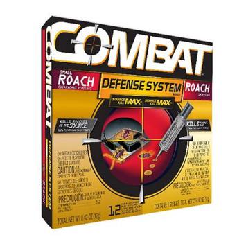 Combat Defense System Kills Roaches Advanced Formula