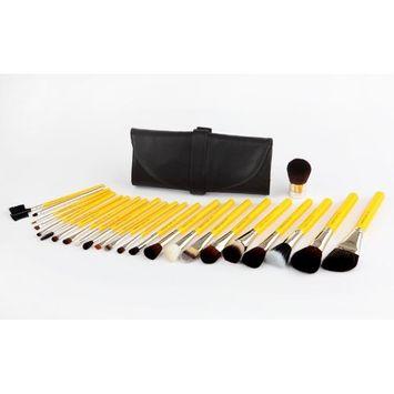 Bdellium Tools Professional Makeup Studio Line Luxury 24pc. Brush Set with Roll-Up Pouch [Studio Line Luxury 24pc]