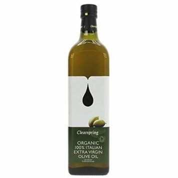 (4 PACK) - Clearspring Extra Virgin Italian Olive Oil - Organic| 1 Ltr |4 PACK - SUPER SAVER - SAVE MONEY