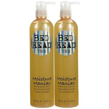 TIGI Bedhead Moisture Maniac Moisturizing Shampoo - 13.5 oz - 2 pk