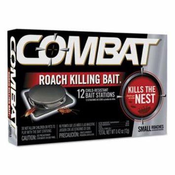 Combat Small Roach Bait, 12 baits per Pack