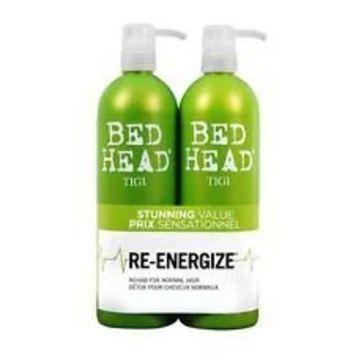TIGI Bed Head Re-Energize Shampoo and Conditioner Duo, 25.36 oz