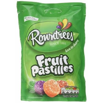 Rowntrees Fruit Pastilles Bag By Rowntrees Original Rowntrees Fruit Pastilles Imported From The UK England Tasty British Fruit Sweets