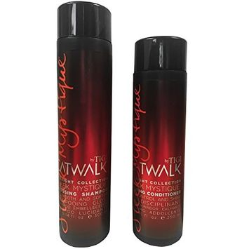 Catwalk By Tigi - Straight Collection Mystique Set Of 2 - Glossing Shampoo 300ml & Calming Conditioner 250ml
