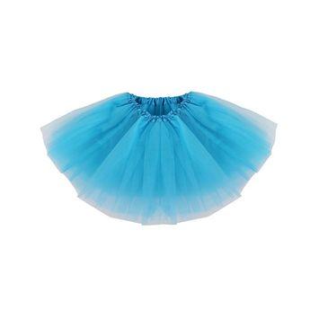 Baby Classic Elastic Layer Tulle Tutu Skirt Pettiskirt,Peacock Blue