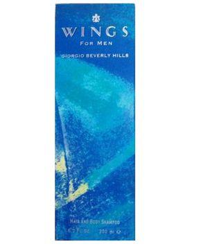 Armani Giorgio Beverly Hills Wings for Men Hair & Body Shampoo, 6.7 Fl Oz