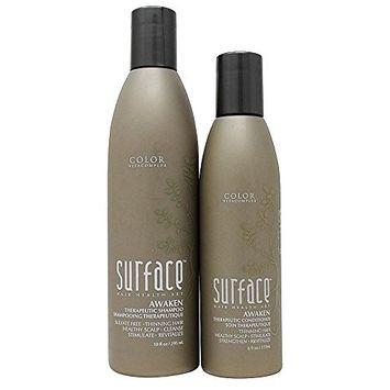 Surface Awaken Therapeutic Shampoo 10oz Conditoner 6oz Duo (295ml) by Kodiake