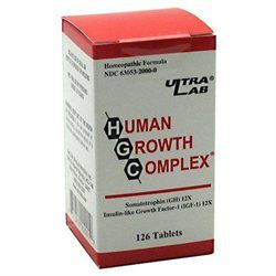 Ultra Lab Nutrition Human Growth Complex-126-Tablets