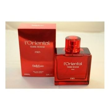 L'Oriental TERRE ROUGE By Estelle Ewen Eau De Toilette Spray 3.4 OZ 100 ML