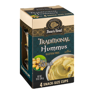 Boar's Head Hummus Traditional Snack-Size Cups - 4 CT