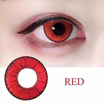 WQFXYZ Women Multi-Color Contact Lenses Cosplay Eyes Cute Charm and Attractive Fashion Eye Accessories Cosmetic Makeup Eye Shadow