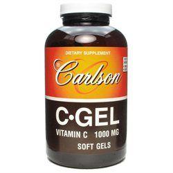 Carlson Laboratories C-Gel 1000 MG - 60 Softgels - Vitamin C