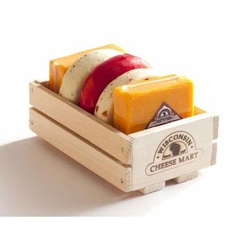 Nibber Jack Crate by Wisconsin Cheese Mart