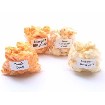 Flavored Cheddar Cheese Curd Combo