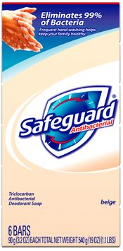 Safeguard Antibacterial Beige Personal Size Soap