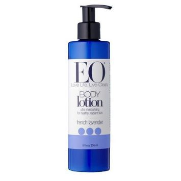 EO Everyday Body Lotion, French Lavender, 8-Ounce Bottles (Pack of 6)
