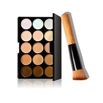 Start 15 Colors Concealer Eye shadow palette kit &Makeup Pinsel Brush
