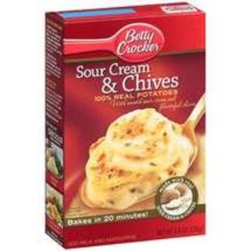 Betty Crocker Sour Cream and Chives Potatoes, 4.8oz