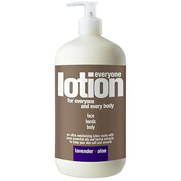 EO Products Lavender and Aloe Everyone Lotion, 32 Ounce -- 1 each.