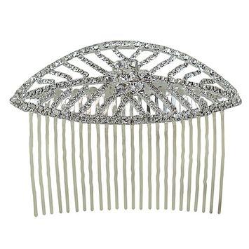 Leaf Hair Comb Crystals 3.75