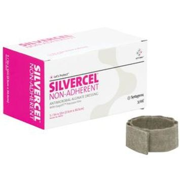 Systagenix Silvercel Non Adherent Antimicrobial Alginate Dressing 1'' x 12'' Rope 1 Count