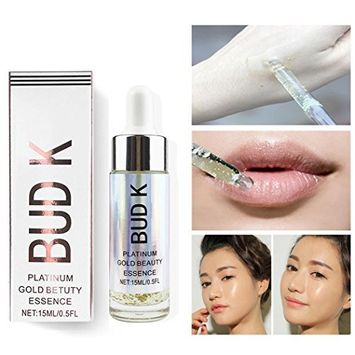 Hunputa Shrink Pores Collagen Strong Anti Wrinkle Hyaluronic Acid Serum New Infused Beauty Oil Essential Oil Before Primer Foundation Moisturizing Face Oil