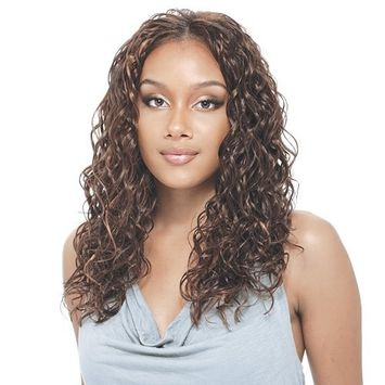 Model Model Synthetic Hair Weave Glance Drama Curl 16
