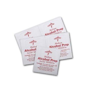 Sterile Alcohol Prep Pads ( PAD, PREP, ALCOHOL, STERILE, MEDIUM, 2-PLY ) 200 Each / box
