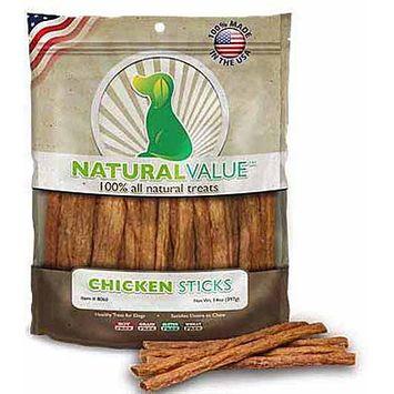 Loving Pets Natural Value Chicken Sticks Dog Treats