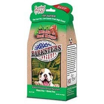 Loving Pets Barksters Alfalfa and Chicken Krisps, Dog Treat, 5-Ounce