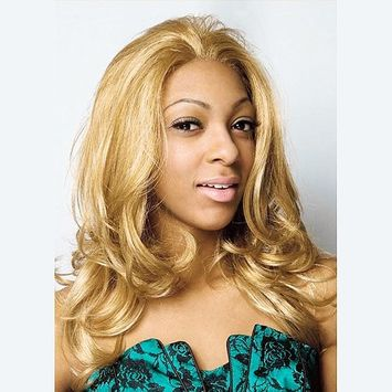 RnB Collection Synthetic hair lace front wig, GEM Color #1