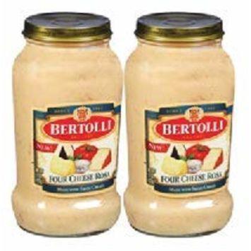 Bertolli Four Cheese Rosa Pasta Sauce 15oz (2 count)