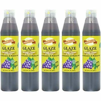 Supremo Italiano Balsamic Glaze, 12.9 Fl. Oz. Bottles (5-Pack)