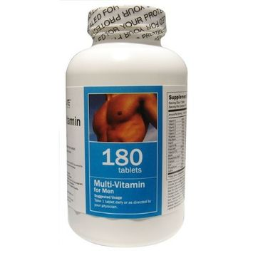 All Nature Multivitamin for Men 180 Tablets