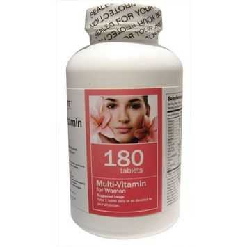 All Nature Multivitamin for Women 180 Tablets
