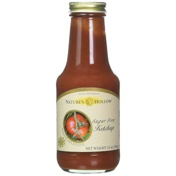 Nature's Hollow Sugar-Free Ketchup, 12 Ounce