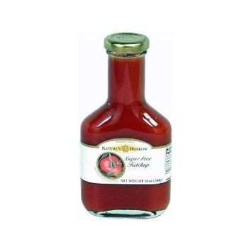 Nature's Hollow - Sugar Free Ketchup Sweetened with Xylitol,Gluten Free,10oz