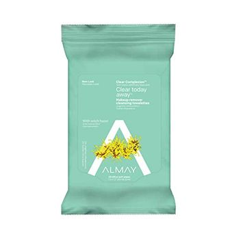 ALMAY Clear Complexion 4-in-1 Makeup Remover Purifying Towelettes Hypoallergenic