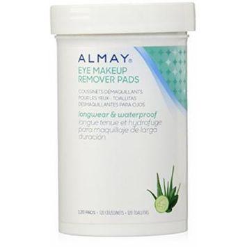 Almay Eye Makeup Remover Pads, Longwear & Waterproof 120 pads by Almay