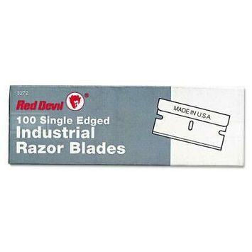 Single Edge Scraper Razor Blades, 100 Box