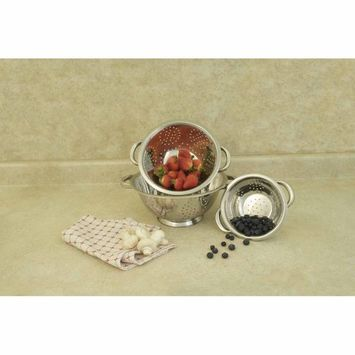 Cook Pro Stainless Steel Colanders (Set of 3)