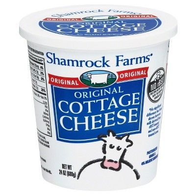 Shamrock Farms Original Cottage Cheese, 24 oz