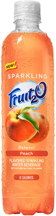 Fruit2O® Natural Peach Flavored Sparkling Water Beverage