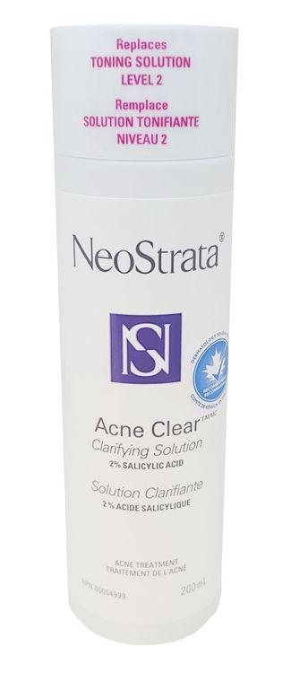 NeoStrata Acne Clear Clarifying Solution, 2% Salicylic Acid