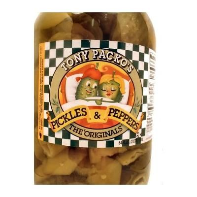 The Original Pickles and Peppers - Large Jar