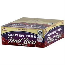 Betty Lou's Gluten Free Fruit Bars Cherry - 12 Bars - Vegan