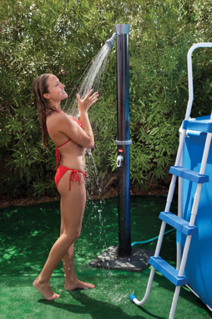 Swim Time Outdoor Solar Shower with Base NU1620