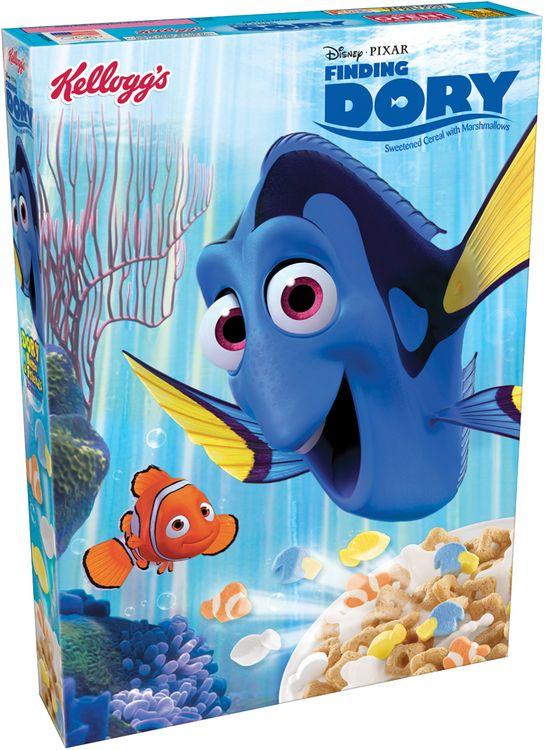 Kellogg's® Disney Pixar Finding Dory Cereal